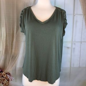 The Cozy Tee Tops - The Cozy Tee Olive Green Shirt